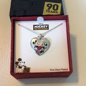 Minnie & Mickey Disney limited edition necklace